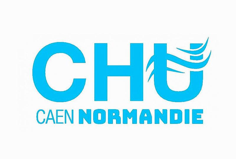 Logo CHU Caen notre partenaire dans l'élaboration du kit de dépistage covid19 LoopXplore