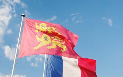 Drapeau Normandie